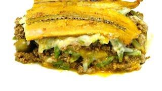 Piñon Or Pastelon De Maduros (puerto Rican Lasagna)