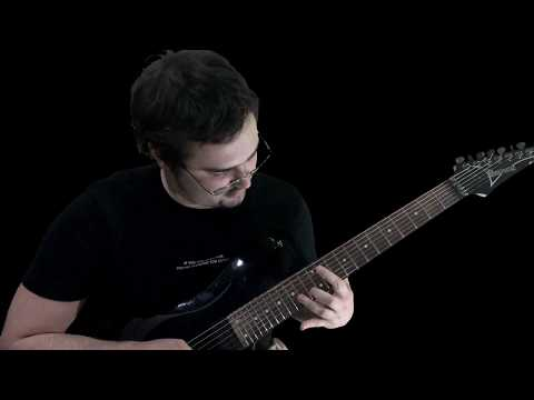 Rings of Saturn -  Servant of This Sentience [Guitar Cover &