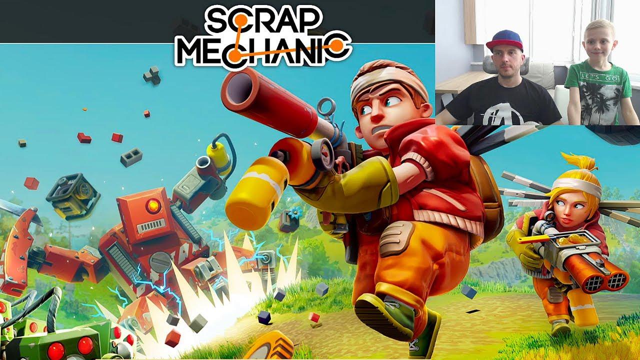 Scrap Mechanic Survival - Даник и игра СКРАП МЕХАНИК ВЫЖИВАНИЕ! 13+