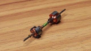 How to Make Homemade Mini Energy Generator Using DC Motors [100% work]