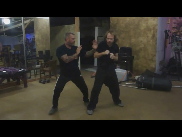 Wing Chun Dai (Low) Bong vs Front Kick