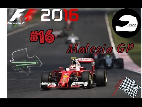 Come Abu Dhabi 2010--F1 2016-RacingMania-Malesia-Gara #16   ||Logitech G29||