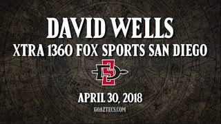 SDSU FOOTBALL: DAVID WELLS - XTRA 1360 FOX SPORTS SAN DIEGO - 4/30/18 thumbnail