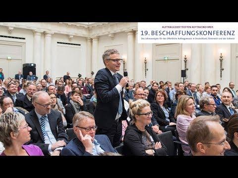 Öffentliches Auftragswesen aktuell – 19. Beschaffungskonferenz 2017