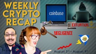 This week in Crypto: Hacker Extorts Binance, Coinbase negligence, negative interest rates, & more!