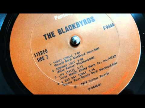The Blackbyrds - A Hot Day Today (lp