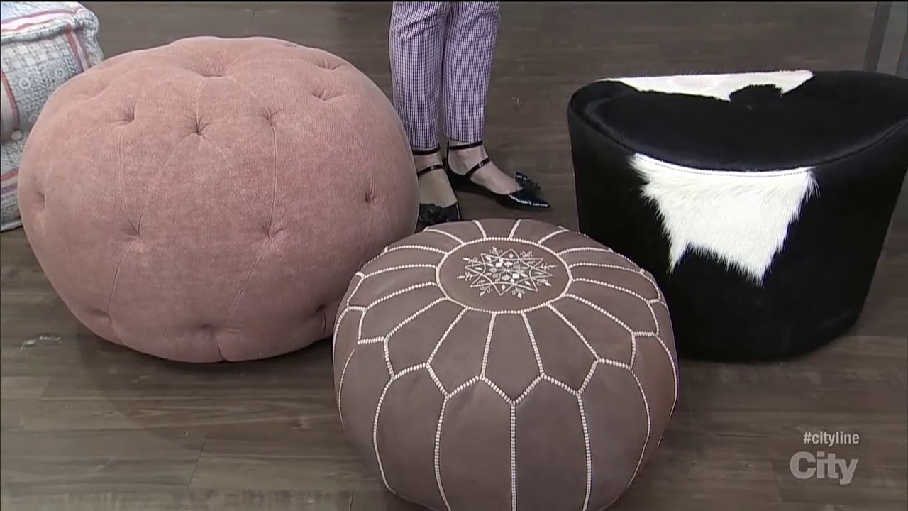 5 Poufs Ottomans For Stylish Seating Solutions