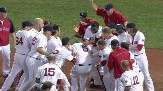 Red Sox walk off on Gomes