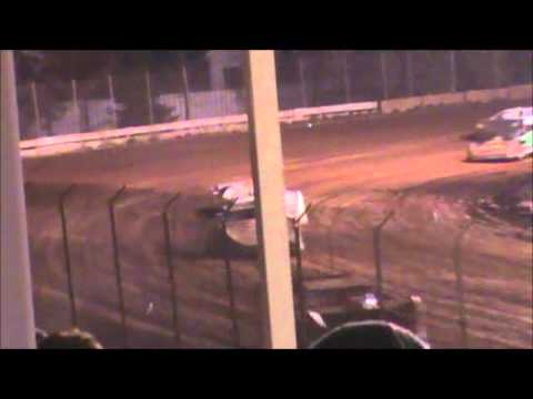 Late Model Feature Langlade County Speedway 10/20/12