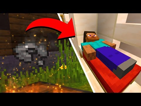 Never do this and go to sleep in Minecraft.. (warning)