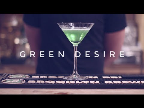 Christmas Connections Cocktail Class: Green Desire