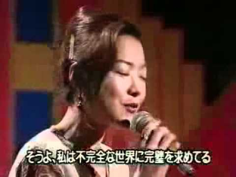 Keiko Toge imitating Karen Carpenter with Richard's blessing