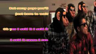The Lazy Song ~ Bruno Mars ~ Karaoke