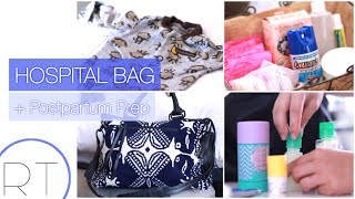 Whats In My Hospital Bag + Postpartum Basket