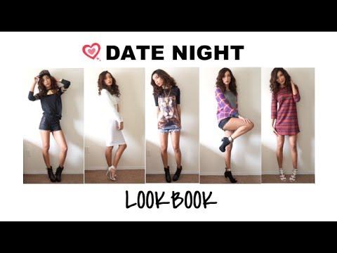LOOKBOOK| 14 u0026quot;Date Nightu0026quot; Outfits (Day u0026 Night) - YouTube