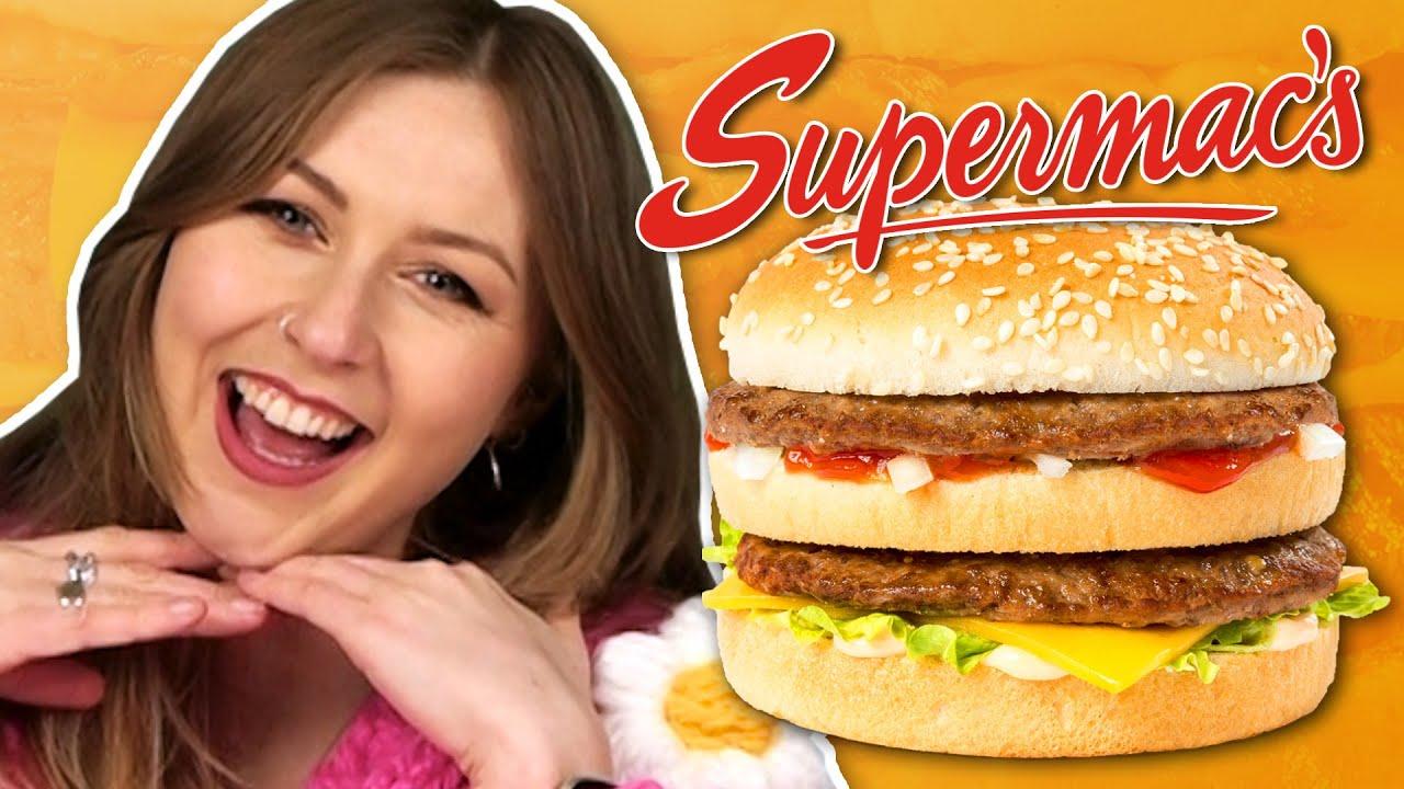 Irish People Try Irish Fast Food (Supermac's)