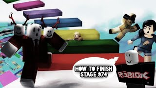 How To Finish Stage 974 In Mega Fun Obby | Roblox