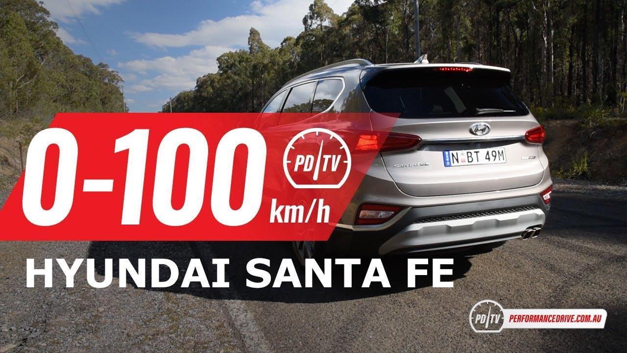 2019 Hyundai Santa Fe 0 100km H Engine Sound Diesel
