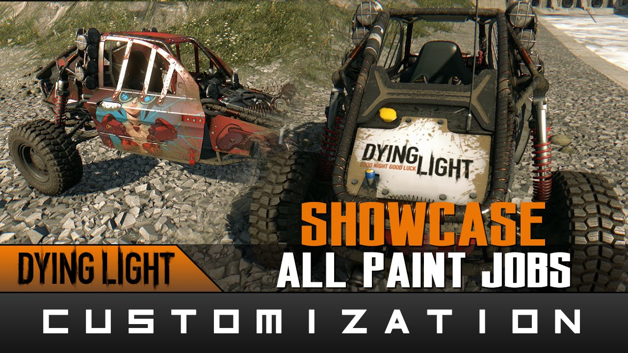 All Paint Jobs Dying Light