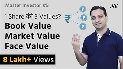 Book Value, Market Value, Face Value of Share - Explained in Hindi (2018)