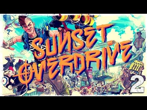 Смотреть прохождение игры [Xbox One] Sunset Overdrive. #2: Ночная заварушка.