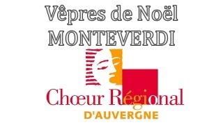 Vêpres de Noël - Claudio MONTEVERDI