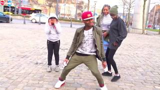 Mr Eazi - Leg Over ( Vibez Video ) ft Wizkid , Eddie Kadi & Maleek Berry dance in belguim