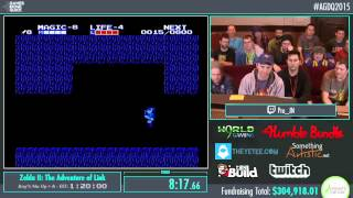 Awesome Games Done Quick 2015 - Part 69 - Zelda II: The Adventure of Link Glitched by inzult