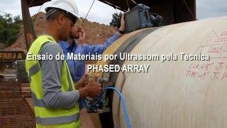 Ensaio de Materiais por Ultrassom pela Técnica Phased Array - Trailer