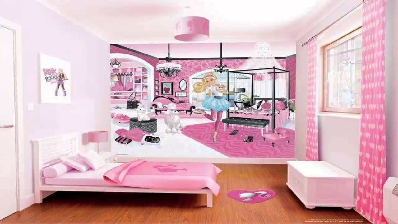 غرف نوم بنات باربي Youtube