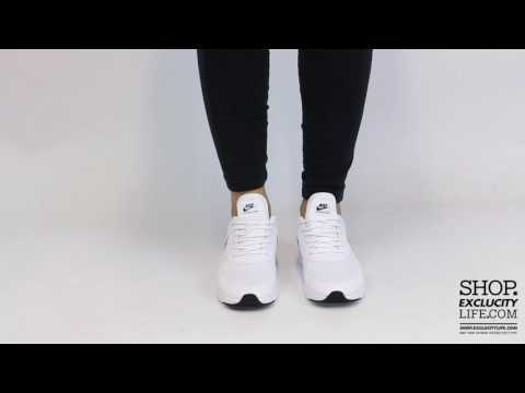 Womens Nike Air Max Thea White Black On Feet At Exclucity