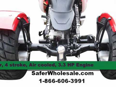 50cc Trike Scooter For Sale Youtube