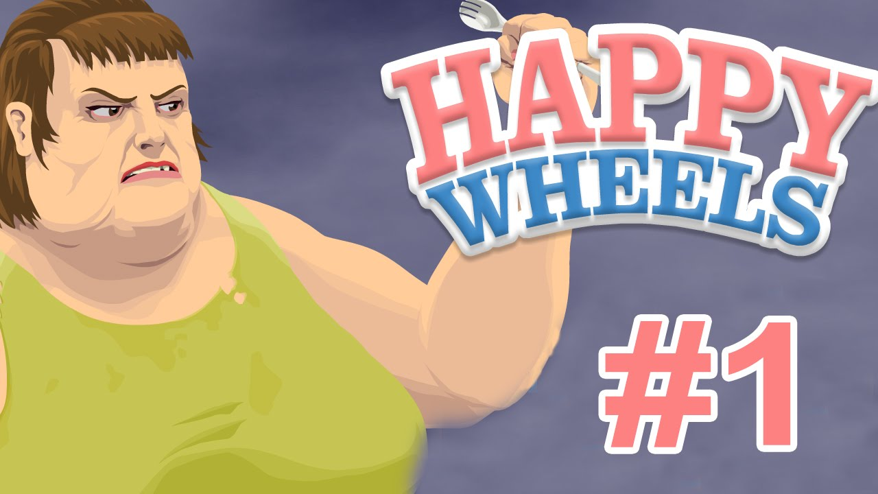 Finally A Pc Game Happy Wheels Part One Youtube