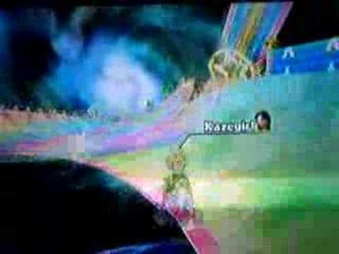 Mario Kart Wii-My ghost data(Rainbow road)