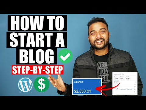 How to START a Money Making Blog on Wordpress (2021) - Blog Kaise Banaye Step By Step Guide in Hindi