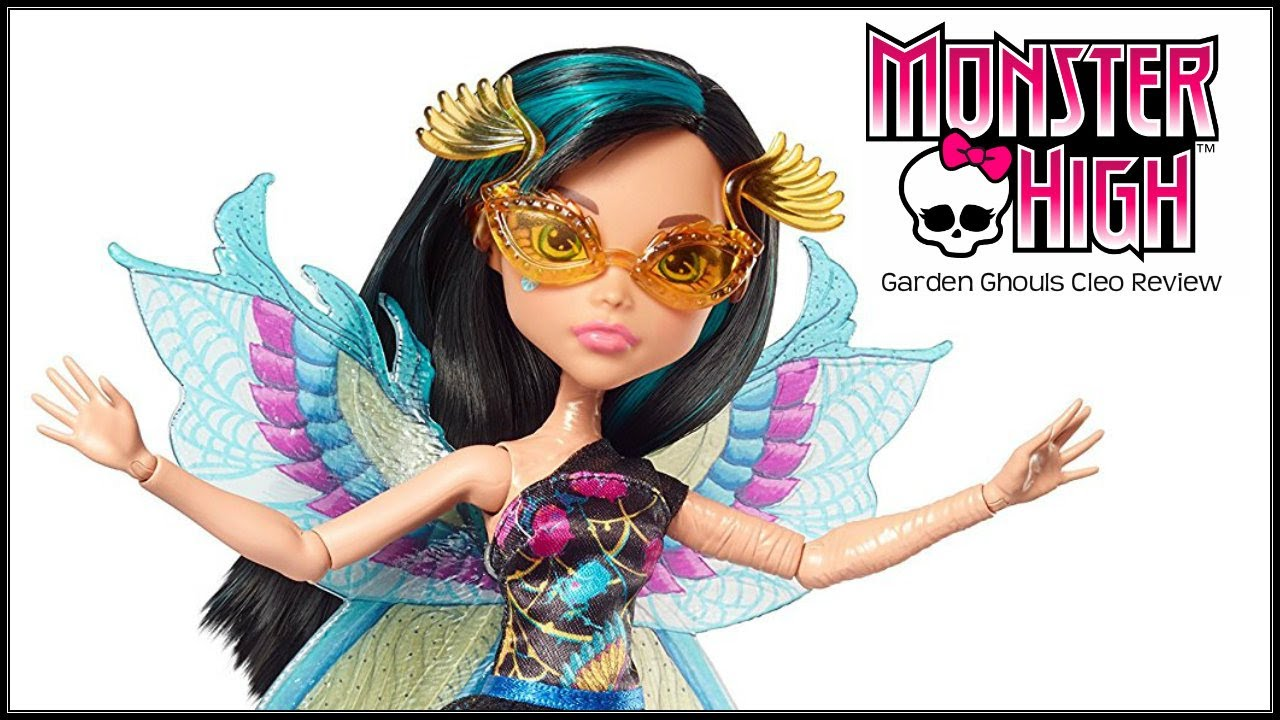 Monster High GLOOM AND BLOOM CLEO DE NILE Doll Review ...