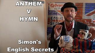 El himno NACIONAL V EL himno del BARÇA en inglés Hymn or Anthem?