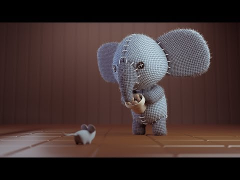 CGC Classic: Creating a Stuffed Elephant pt. 2 - Textures / Render Composition (Blender 2.6)