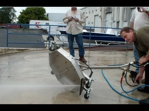 Hydro Twister Ant4c 28 Quot Surface Cleaner With Water Broom