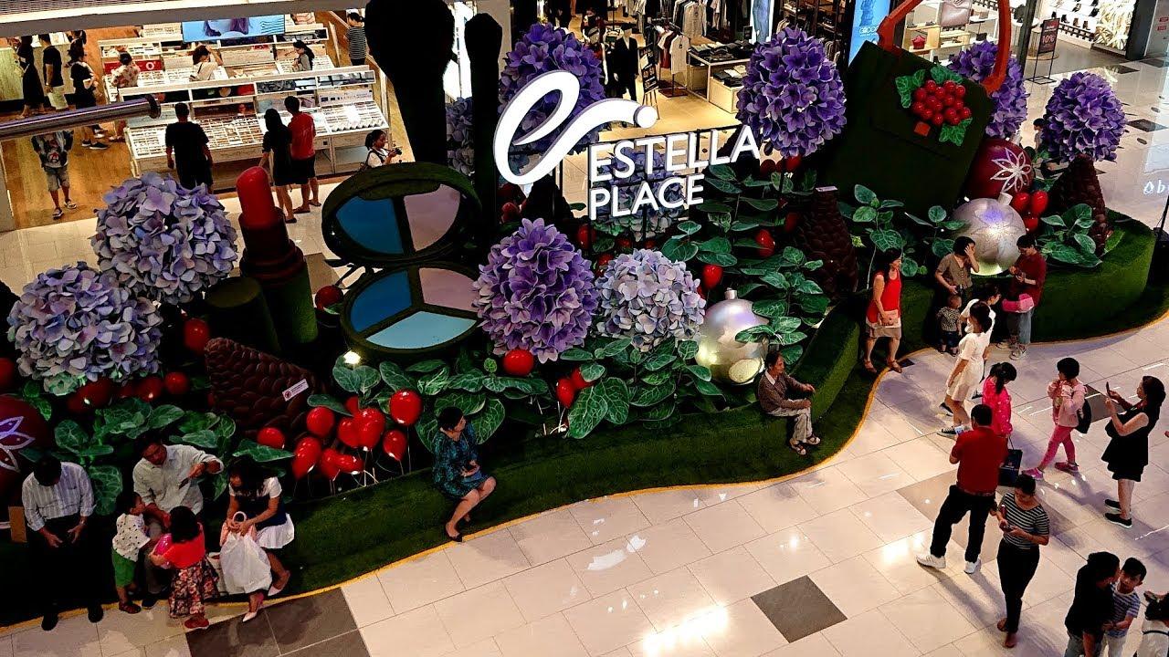 TTTM siêu đẹp theo tiêu chuẩn Singapore : Estella Place khai trương 22/12/2018 ở Q.2