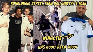 KOEN & MATTHY GEDOLD DOOR RONALDINHO STREET TEAM! BAS GOOIT AKKA 3000 + WINACTIE
