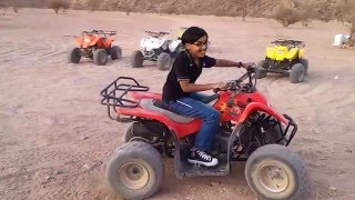 four wheel bike ride, Madeena, k s a,