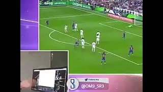 Angalia Mtangazaji Wa Mechi Ya Barca Na Madrid Alichikifanya Baada Ya Goli La 3