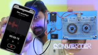 how to convert audio cassette to mp3 at your home
