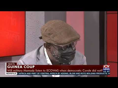 Guinea coup: This is the time for ECOWAS to crack the whip - Senior Member, GBA, Frank Davies