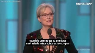 Meryl Vs Trump: del brillante discurso a la impulsiva respuesta