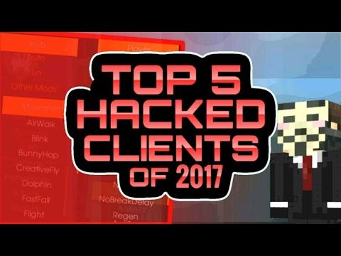 MCPE TOP 5 HACKS 2017