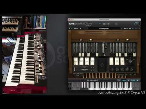 B-5 Organ V2 by Acousticsamples overview video