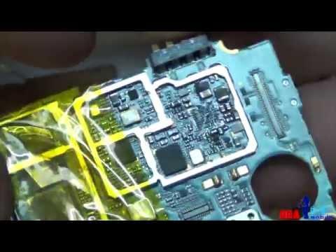 Samsung Galaxy S4 I9500 оригинал попытка реанимировать. Реболл процессора