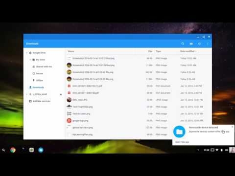 Chromebooks: Accessing Files and Folders